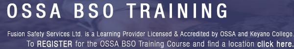 OSSA BSO Training