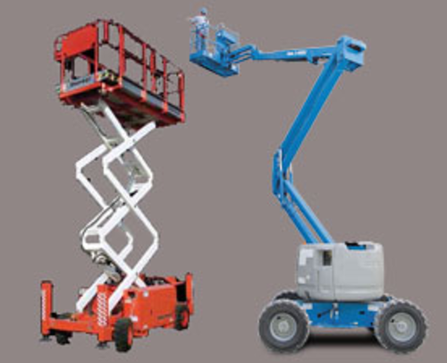 Elevated work platform course